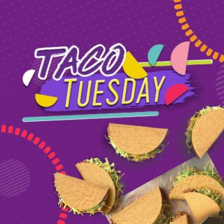 Hurray it's Taco Tuesday!  Tuesdays are for 🌮🌮 It's time to bring #TacoTuesday home to Malaysia! How're you going to celebrate this Taco Tuesday?  #LiveKawKaw #DoGoodKawKaw  #LiveMas #TacoBellMalaysia