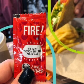Our sauce packets are famous all around the world because they come with fun messages. Have you checked what yours says? #LiveKawKaw #LiveMas #TacoBellMalaysia